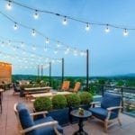 Hotel Rooftop at Graduate Charlottesville